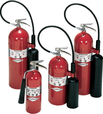 Carboon Dioxide Fire Extinguisher